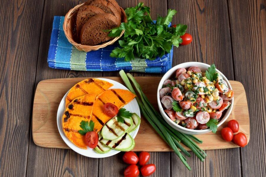How to serve Healthy Corn Salad