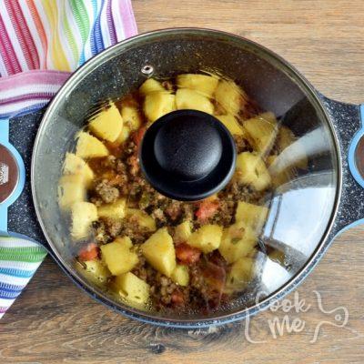 Keema Aloo (Ground Beef and Potatoes) recipe - step 5
