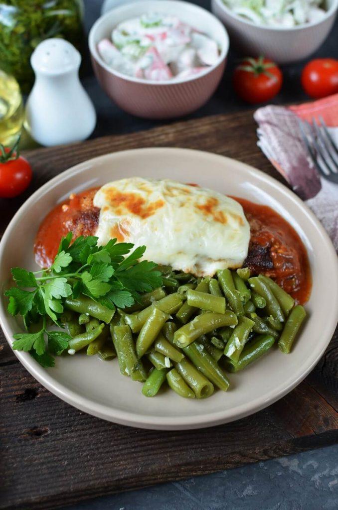 Healthy, tasty green beans