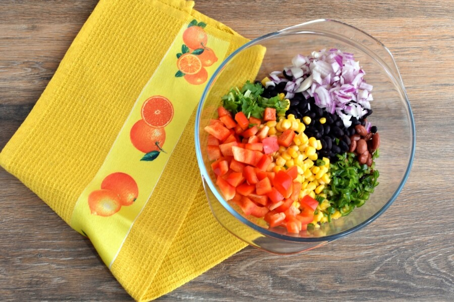 Gluten Free Mama's Famous Bean Salad recipe - step 2