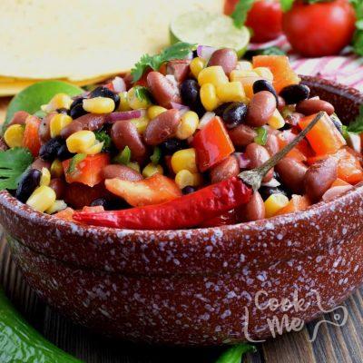 Mama's Famous Bean Salad Recipe-Homemade Mama's Famous Bean Salad-Easy Mama's Famous Bean Salad