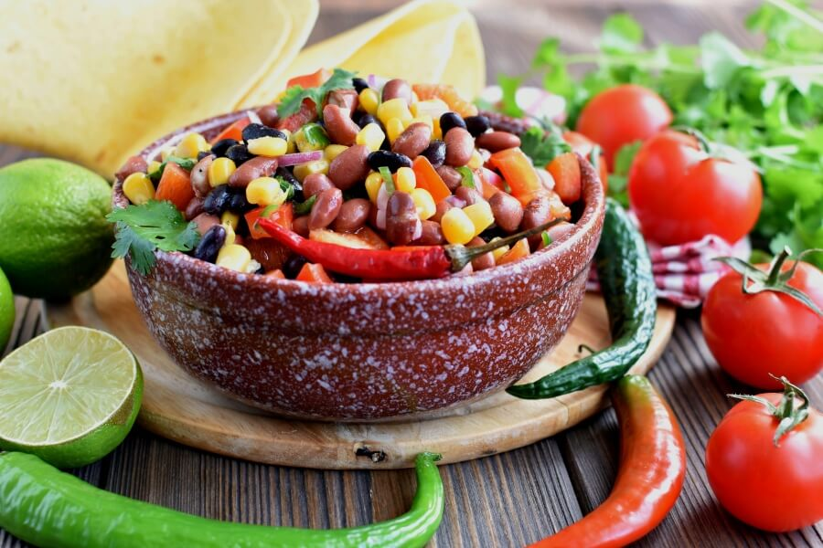 How to serve Gluten Free Mama's Famous Bean Salad
