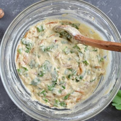 Onion Marmalade & Spinach Bread recipe - step 5