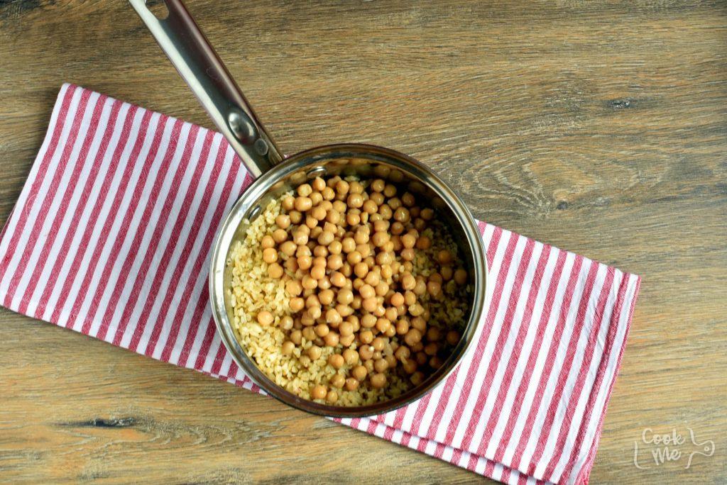 Mediterranean Bulgur Bowl recipe - step 2