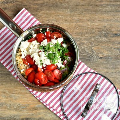 Mediterranean Bulgur Bowl recipe - step 4