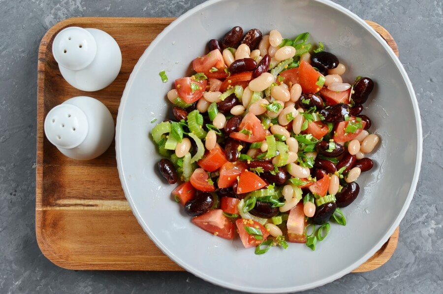Vegan Mixed Bean Salad recipe - step 3