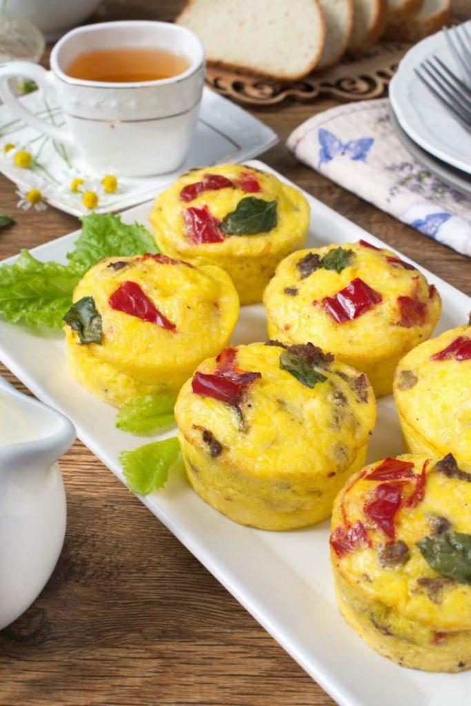 Flour Free Breakfast Muffins