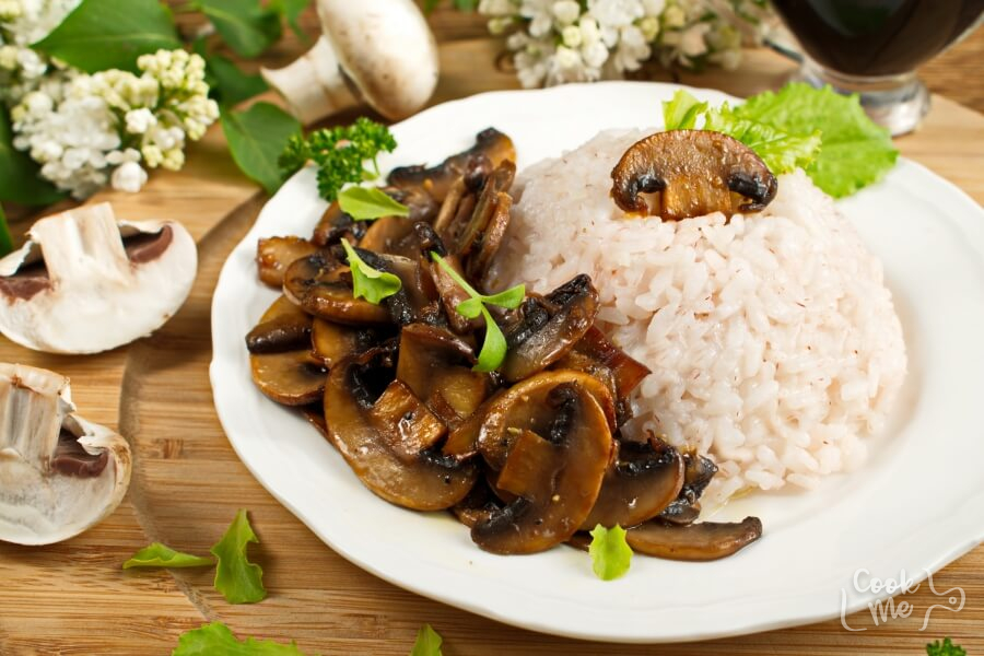 How to serve Mushrooms with a Soy Sauce Glaze