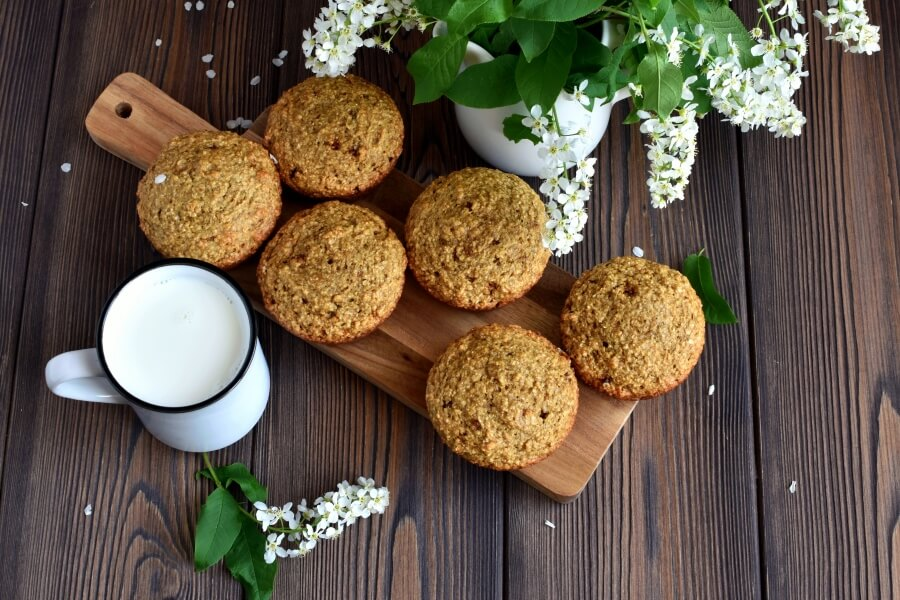 How to serve Oat Bran Muffins