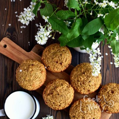 Oat Bran Muffins Recipe-Homemade Oat Bran Muffins-Delicious Oat Bran Muffins