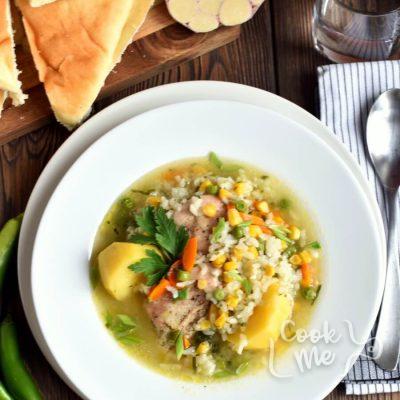 Peruvian Chicken Soup (Aguadito de Pollo) Recipe-Homemade Peruvian Chicken Soup (Aguadito de Pollo)-Delicious Peruvian Chicken Soup (Aguadito de Pollo)