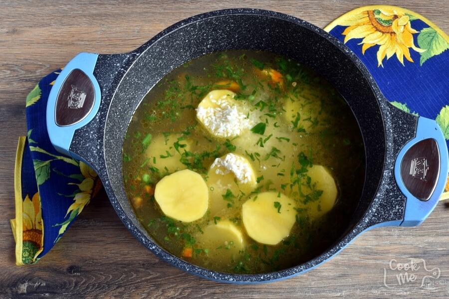 Gluten Free Peruvian Chicken Soup (Aguadito de Pollo) recipe - step 6