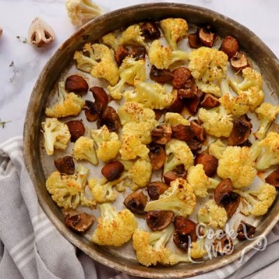 Roasted Cauliflower and Cheese Quiche with Quinoa recipe - step 5