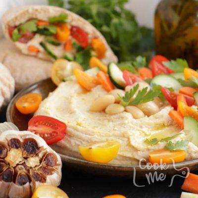Roasted Garlic White Bean Hummus Recipe-How to Cook Roasted Garlic White Bean Hummus-Delicious Roasted Garlic White Bean Hummus