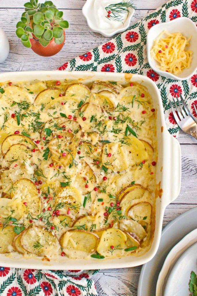 Easy to make Creamy Potatoes