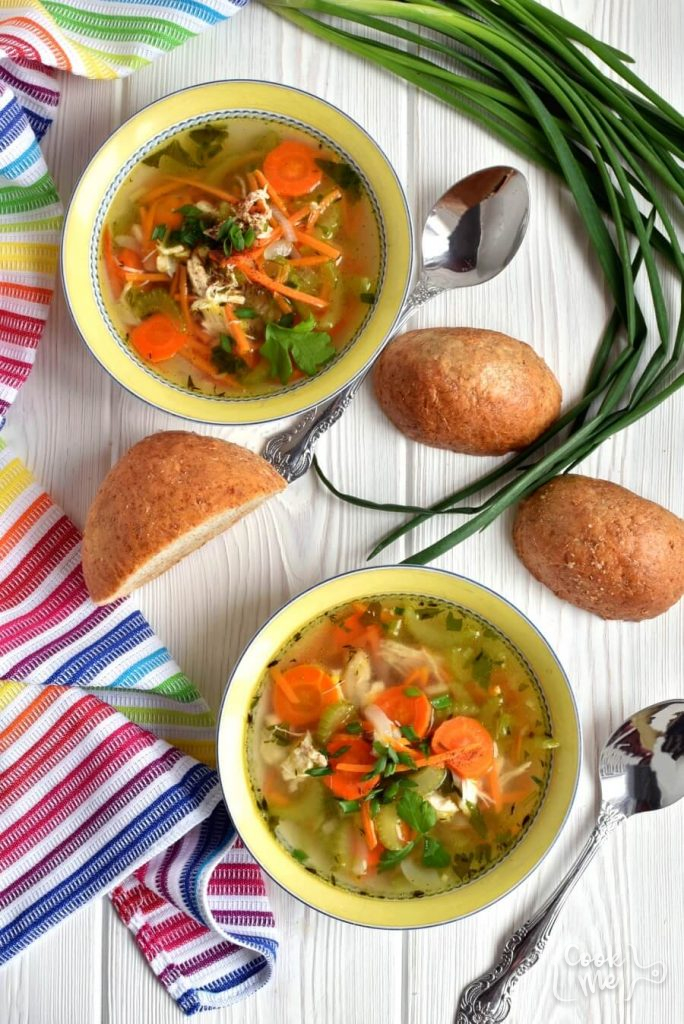 Weigh less with this Chicken Noodle Soup