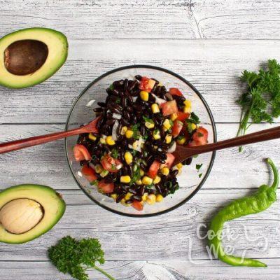 Low Cholesterol Black Bean Salad recipe - step 2