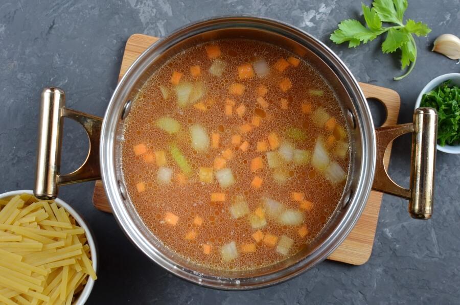 Spaghetti Soup recipe - step 3
