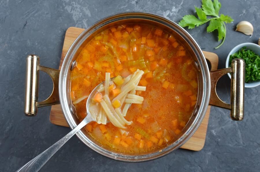 Spaghetti Soup recipe - step 4