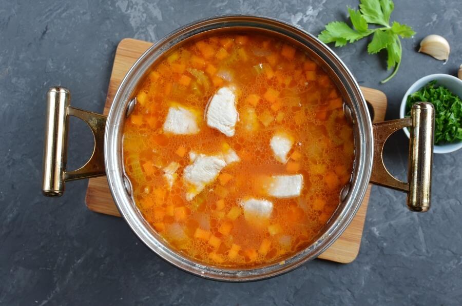 Spaghetti Soup recipe - step 5