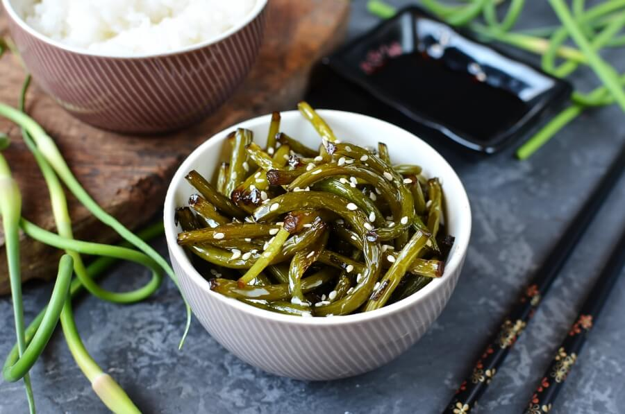How to serve Special Vegan Banchan for Garlic Lovers