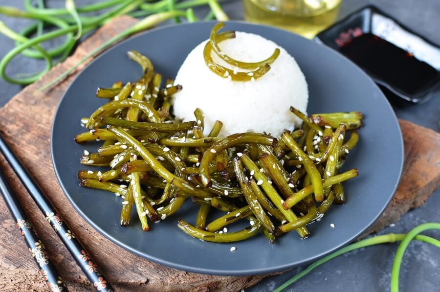 Special Banchan for Garlic Lovers Recipe-How To Make Special Banchan for Garlic Lovers-Delicious Special Banchan for Garlic Lovers