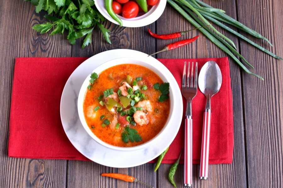 How to serve Spicy Fish Soup
