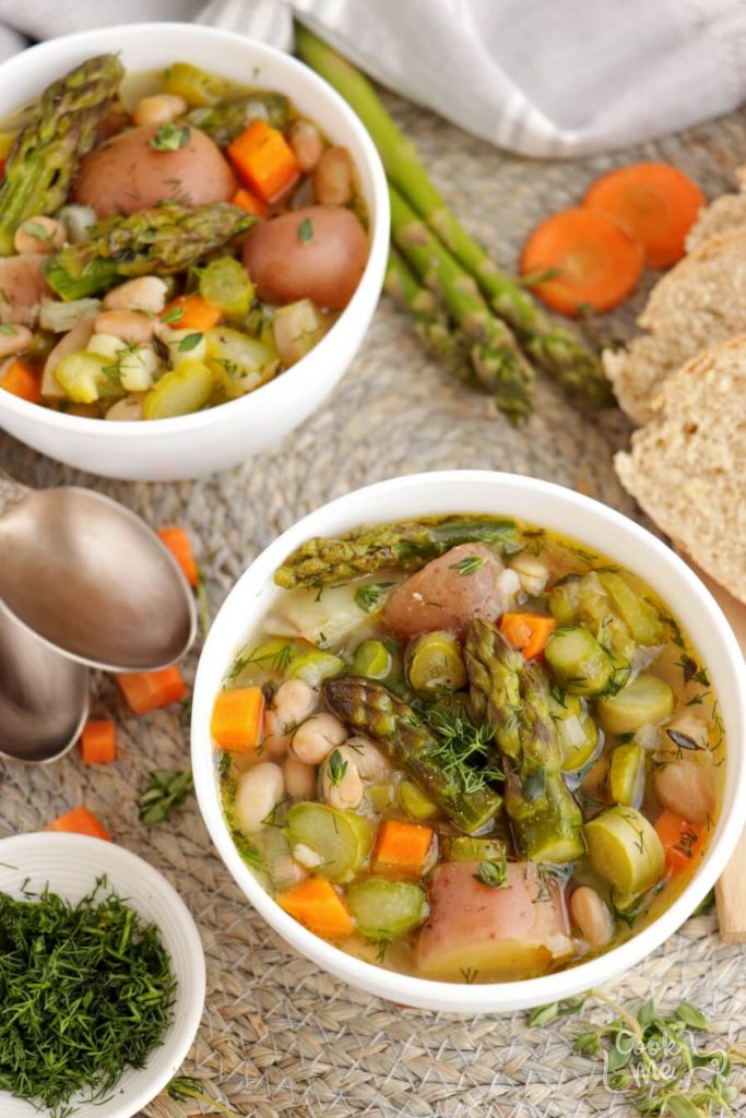 A Vegetable Spring Soup