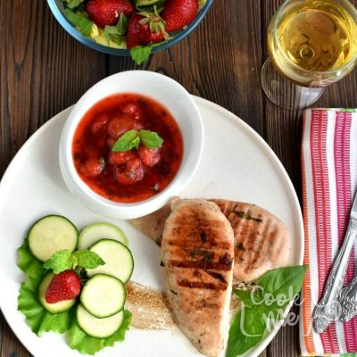 Strawberry Mint Chicken Recipe-Homemade Strawberry Mint Chicken-Delicious Strawberry Mint Chicken