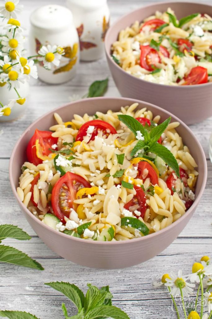 Summer Orzo with Mint