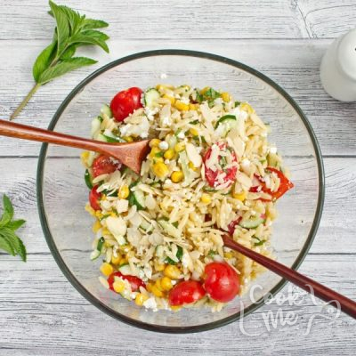 Summer Orzo with Mint recipe - step 5