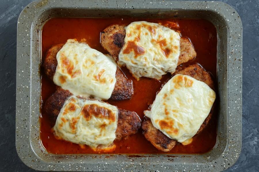 Tomato Chicken Parmesan recipe - step 7