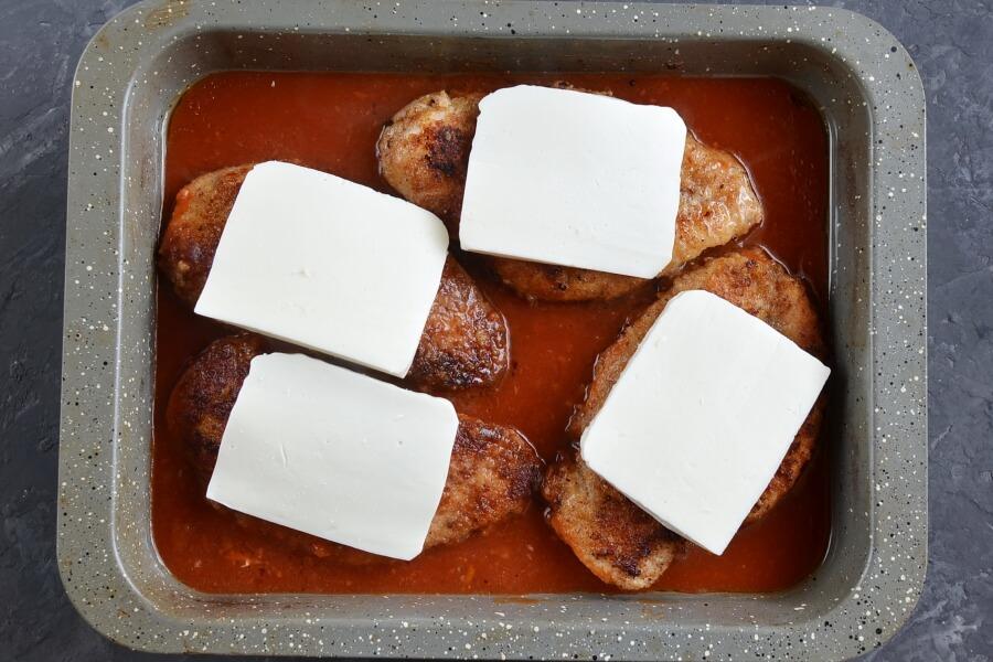 Tomato Chicken Parmesan recipe - step 6
