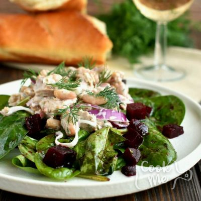 Tuna, White Bean & Dill Salad Recipe-How To Make Tuna, White Bean & Dill Salad-Delicious Tuna, White Bean & Dill Salad