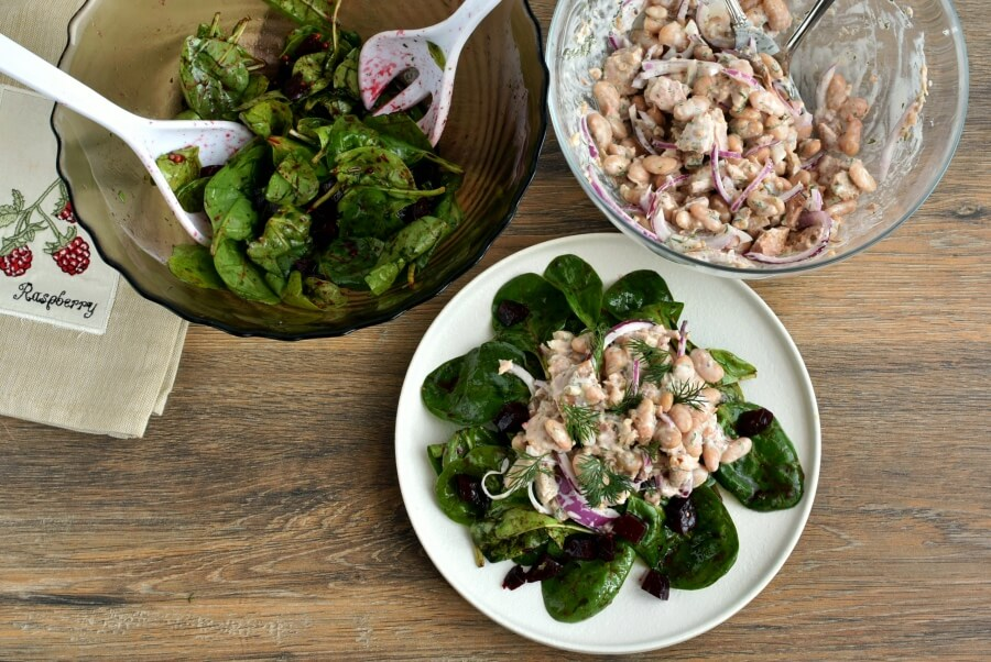 How to serve Tuna, White Bean and Dill Salad