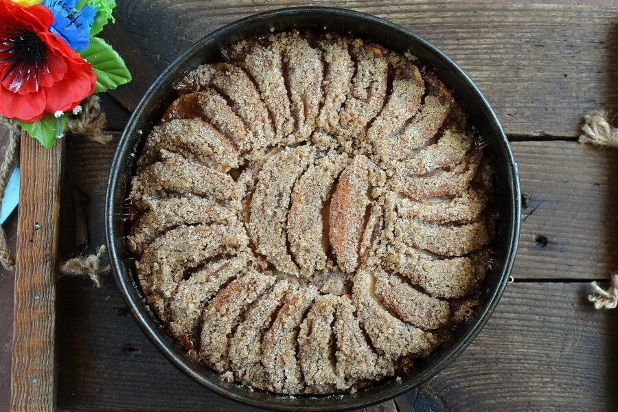 Ukrainian Apple Cake (Yabluchnyk) recipe - step 8
