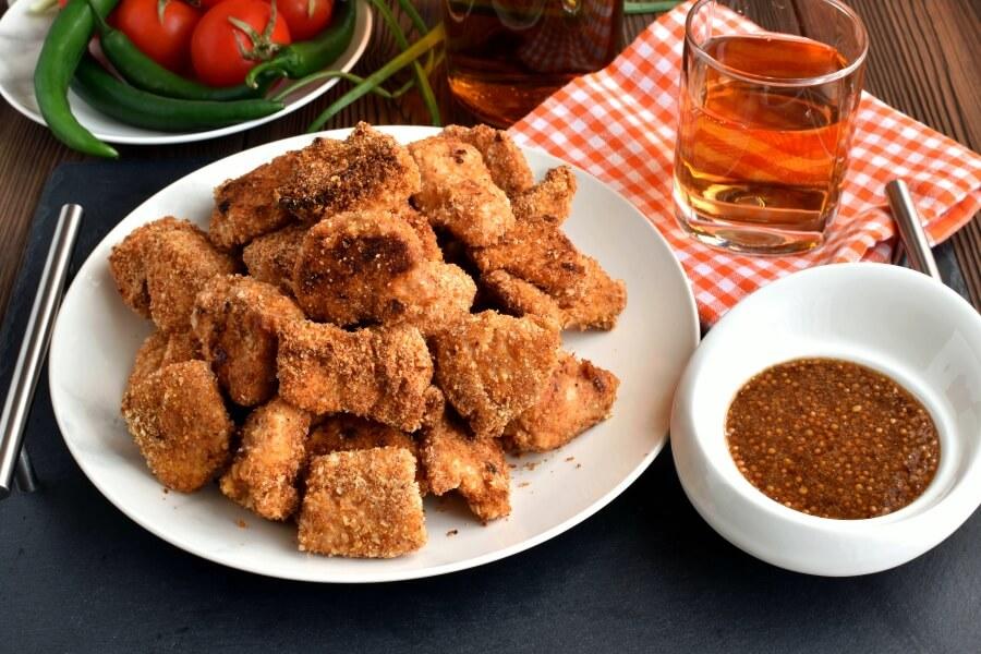 How to serve Unfried Chicken