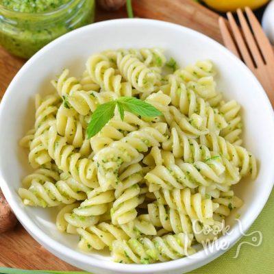 Vegan Garlic Scape and Swiss Chard Pesto Recipe-How To Make Vegan Garlic Scape and Swiss Chard Pesto-Delicious Vegan Garlic Scape and Swiss Chard Pesto