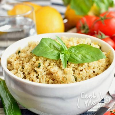 Vegan Gluten Free Lemon Herb Quinoa Recipe-Homemade Vegan Gluten Free Lemon Herb Quinoa-Easy Vegan Gluten Free Lemon Herb Quinoa