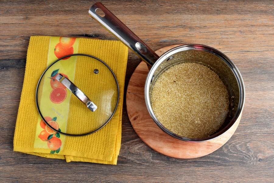 Vegan Gluten Free Lemon Herb Quinoa recipe - step 1