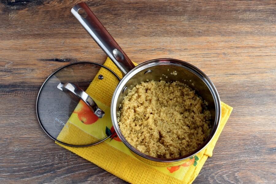 Vegan Gluten Free Lemon Herb Quinoa recipe - step 2