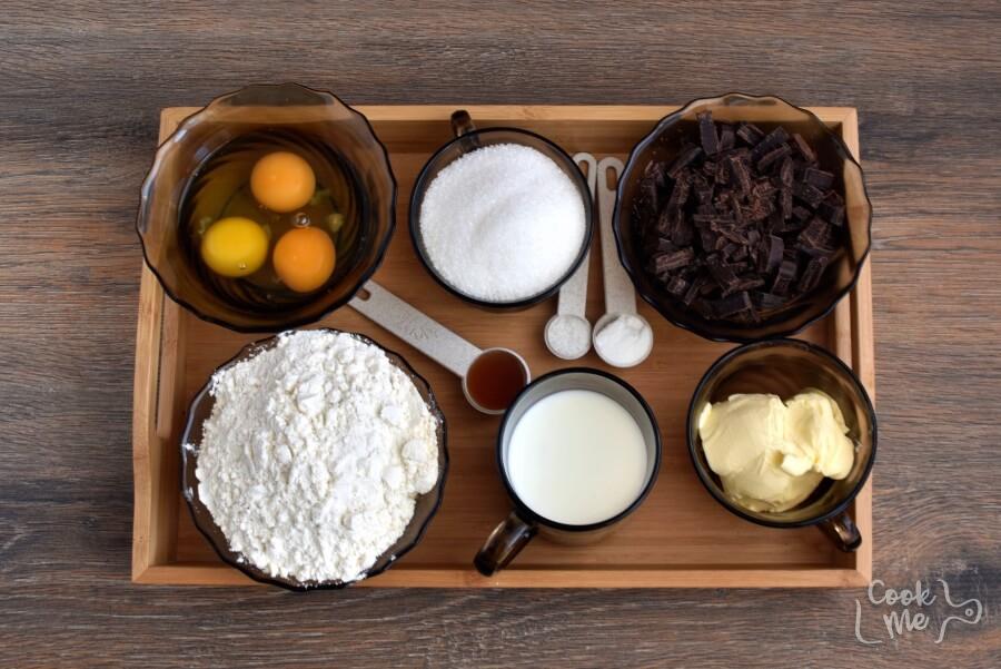 Ingridiens for Wellesley Fudge Cake