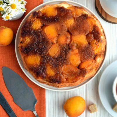 Apricot Upside-Down Cake Recipe-Homemade Apricot Upside-Down Cake-Delicious Apricot Upside-Down Cake