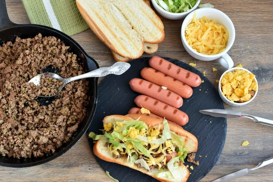 How to serve Best Taco Dogs