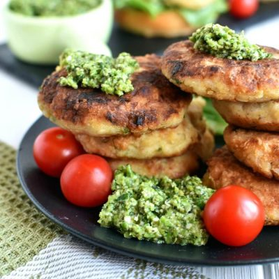 Cauliflower Rice Cakes Recipe-How To Cauliflower Rice Cakes-Delicious Cauliflower Rice Cakes
