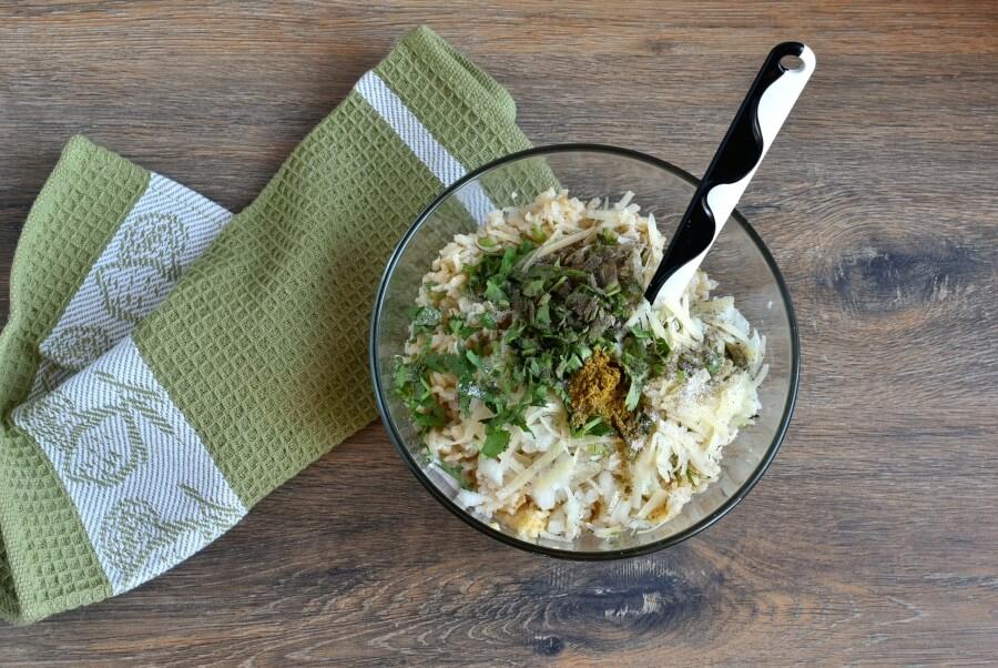 Cauliflower Rice Cakes recipe - step 4