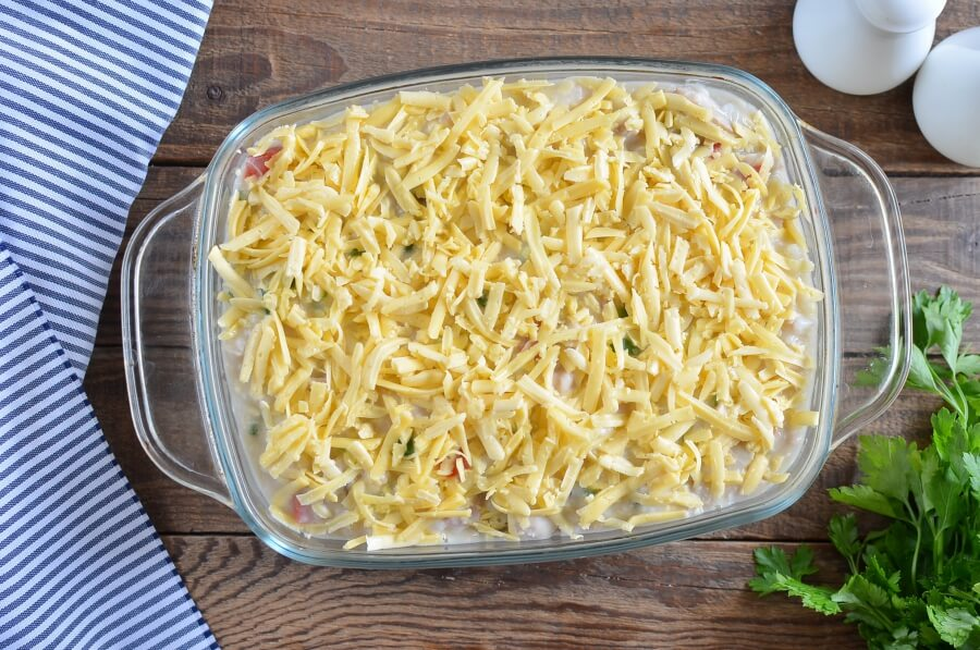 Cheddar Chicken and Rice Casserole recipe - step 8