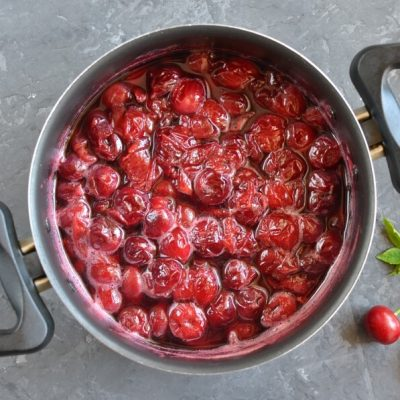 Cherry Cheese Blintzes recipe - step 7