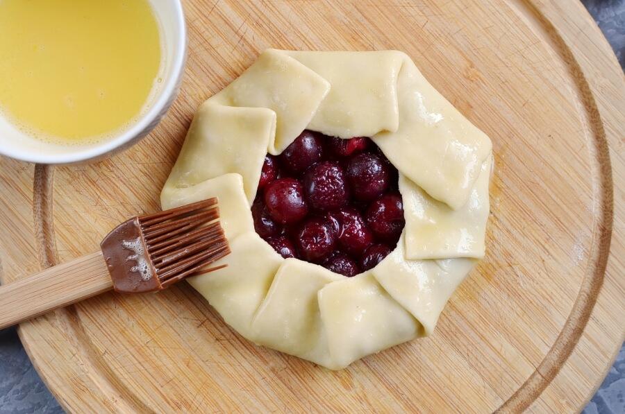 Cherry Galettes recipe - step 10