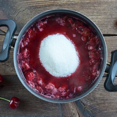 Cherry and Cinnamon Conserve recipe - step 3